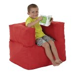 Kids Cushion Arm Chairs was £44.25 NOW £14.75 @ Asda in red or blue