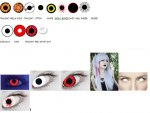* SPOOKY * LivingSocial Halloween Contact Lenses - 14 Designs - Only £4 a Pair / 2 for £7 / 3 for £10 + £2.99 Delivery per Order
