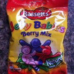 Bassetts Jelly Babies (190g) 'Berry Mix' half price 74p in Tesco