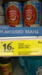 Tesco Sweet Chilli Baked beans 16p @ Tesco instore