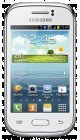 Samsung galaxy young white refurbished mobile phone at e2save on talk mobile £180 £7.50 a month for 24 months 250 mins 5000txt 500mb data but you get the whole £180 back by redemption plus  making this a free deal.....even better £28.35 tcb profit