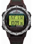 Timex Expedition Men's Digital Watch with LCD Dial Digital Display and Brown Leather Strap £23.79 Delivered from Amazon