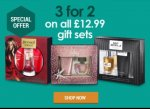 3 for 2 gift sets semi chem (£25.99)
