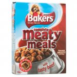 Bakers Meaty Meals with Tasty Beef 1kg 2 for £4 at B&M usually around £3.15 each