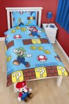Super Mario Single Duvet Cover Set just £3.50 (C+C) @ Tesco Direct