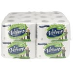Velvet Toilet Tissue – 24 Rolls Per Pack (£21.59 incl. VAT) @ Viking
