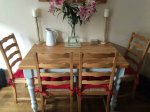 Farmhouse Kitchen Table and Chairs