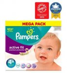 Pampers Active Fit Nappies Size 4+ Mega Box - 74 Nappies£10.00 @ Boots