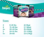 Pampers Active Fit All Sizes Monthly Pack (124-204 Nappies) From 9.5p each £16.62 Free Delivery @ Amazon