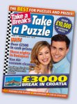 Take a Break's Take a Puzzle Competitions No.11 (ends 20.11.2014)