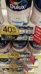 Dulux 2.5l emulsion 40% off £10.80 @ Wilkinsons
