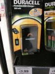 Duracell Portable USB 1800mAh Charger £3.99 in store @ Sainsbury's