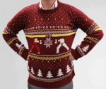Street Fighter/ Sonic The Hedgehog/ PlayStation Xmas Jumper £27.26 Each Delivered @ VideoGameBox (Using Code/Also Reward Points)