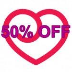 50% OFF @ LoveHoney
