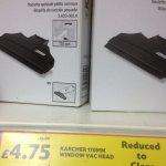 Karcher small suction nozzle £4.75 @ tesco