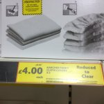 Karcher terry cloth covers reduced  £4.00 @ tesco's.