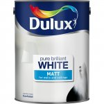Dulux 5l Brilliant White Matt or Silk only £10. Instore and online @ Asda Direct