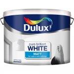 Dulux 10L Rich Matt Pure Brilliant White now £17 at B&Q ( was £25)