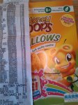 Kellogg's honey pop pillows £1.00 asda boldon