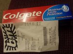 colgate toothpaste 2 for £1 @ B&M 100ml