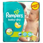 Pampers Baby Dry Size 4+ Maxi Plus Monthly Pack - 152 Nappies for £19.00 @ Amazon