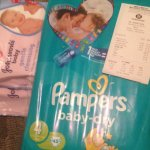 Pampers nappies £6 johnsons baby wipes half price 89p @ morrisons