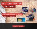 Lenovo winter-vatback get 16.7% back on qualifying purchases (Desktops, Laptops and Tablets)