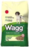 Wagg Complete Worker Beef and Vegetables Dry Mix 17 kg £10.00 @ amazon