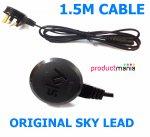 ORIGINAL SKY FIGURE 8 Cable 1.5M UK PLUG Productmania @ Ebay /  productmanialtd  £1.35 Delivered & 501 Nectar Points