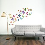 Walplus Butterflies Childrens Wall Stickers Mural Art Decor 28 Piece Mixed Colors with 81% off £2.32 @ Amazon (free delivery over £10)