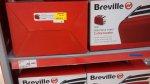 Breville 2 slice red stainless steel toaster £4.50 at asda Folkestone