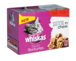 Asda - Whiskas Tasty Textures Mixed Selection In Pate All Varieties - £1.50