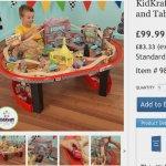 Disney Cars Radiator Springs Race Table £99.99 @ costco
