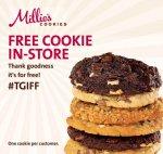 Free Millies Cookie - One per customer
