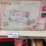 Wedding fingerprint guest book at tesco only £2.50! (instore)