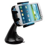 Intek I-Touch Button Car Windshield & Dashboard Mount for Iphone 4/4s/5/5c/5s, Galaxy S4/s3/s2, Galaxy Note 1/2/3 HTC One,/one X, Droid Razr Maxx, Google Nexus, Lg Optimus - Retail Packaging (Blue) @ Crazy Deals Shop and Fulfilled by Amazon £7.99 (fr