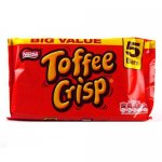 toffee crisp 5 pack £1 @ Poundstretcher