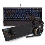 Corsair Cherry MX Red K70 RGB Keyboard, M65 Mouse, M200 Mouse Mat & H2100 7.1 Headset Bundle £299 + deliv £4.57 = £305.47@ Scan