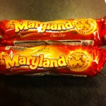 Maryland choc chip cookies 145g 3 for £1 @home bargains