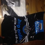 Newcastle United 2014/2015 Limited Edition Members Shirt Size Small BNWT