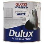 Dulux 2.5ltr gloss paint £12 - 3 for 2 @ TESCO direct