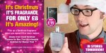 Spend £8 and get Beckham fragrance for £8 Poundland