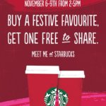 Free Starbucks when you buy a festive one