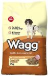 Wagg Complete Worker Chicken & Vegetables Dry Mix 17kg - £12.80 @ Amazon