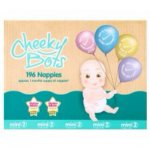 Tesco cheeky bots nappies £20 reduced from £30 instore and online at Tesco