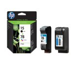 CURRYS/PC WORLD  HP 15/78 Black & Tri-colour Ink Cartridges £9.97 - Twin Pack COLLECTION ONLY WAS £57.99 NOW