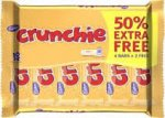 Crunchie 4 Pack + 2 Free - £1 @ PoundLand