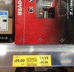 Hoover Spritz bagless vacuum £59.99 Bedworth Tesco