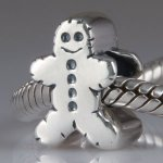 Sterling Silver Christmas Gingerbread Man Bead Fits Pandora - £6.10 delivered from Amazon seller