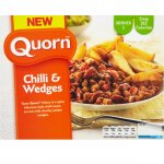 Quorn Chilli and Wedges (400g). £1 in Heron foods - Halifax